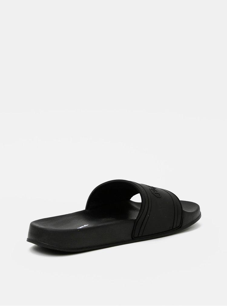 Čierne dámske šľapky Pepe Jeans