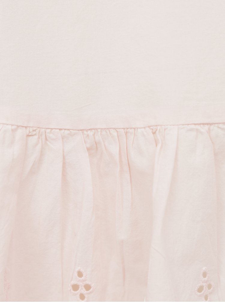 Topuri pentru femei ONLY - roz deschis