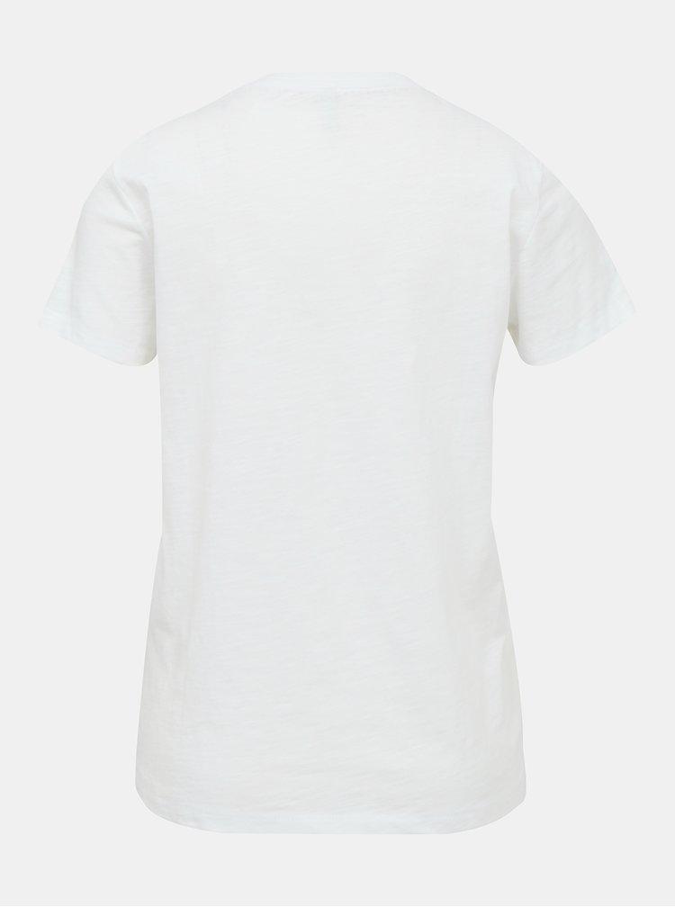 Biele tričko ONLY Bone