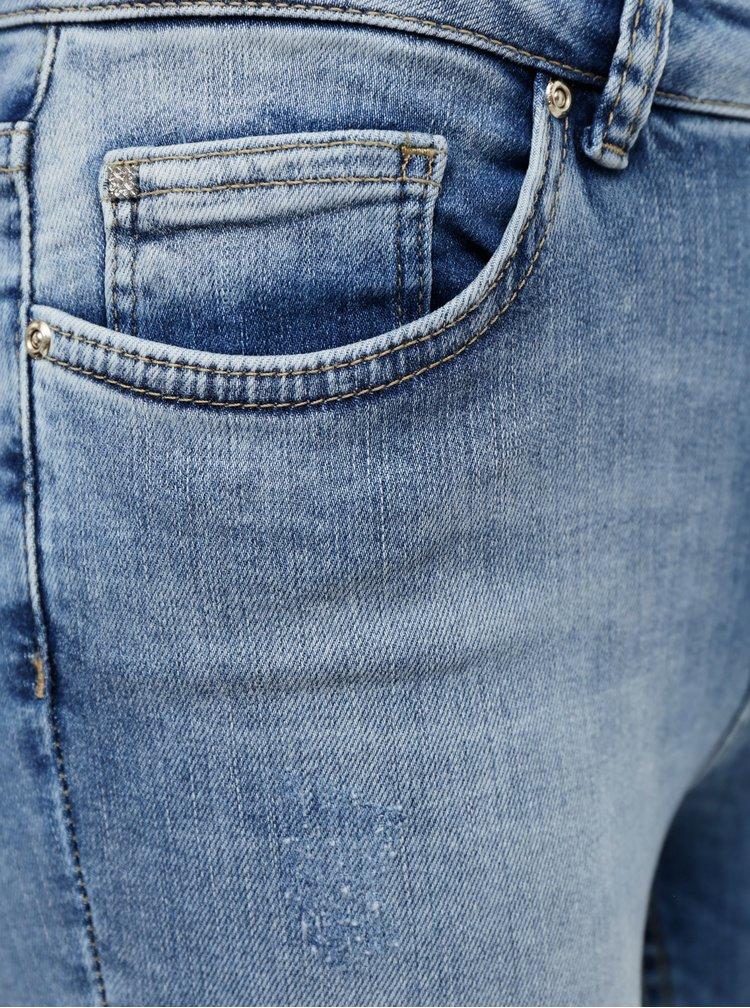 Modré skinny fit džíny ONLY Blush