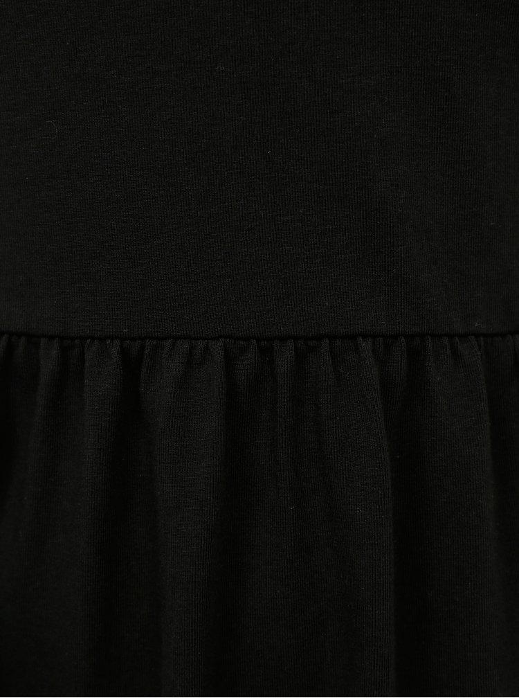 Čierne šaty ONLY CARMAKOMA Kallon