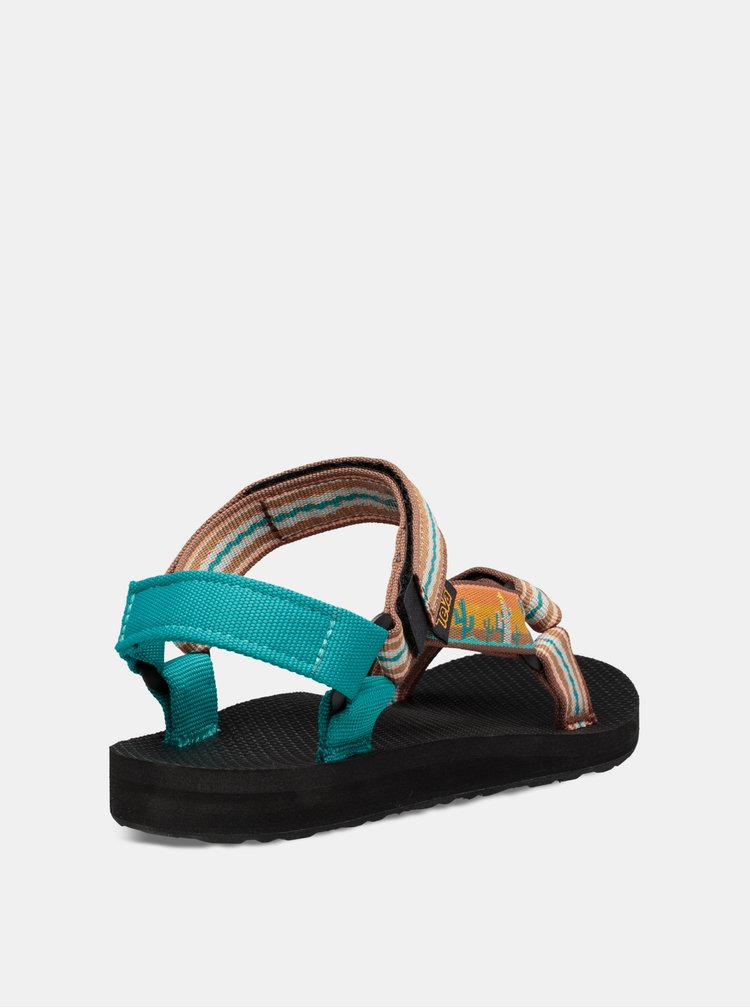 Modro-oranžové sandály Teva Original Universal