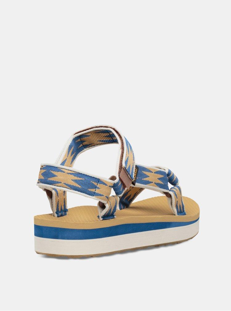 Modré dámské sandály Teva Midform Universal