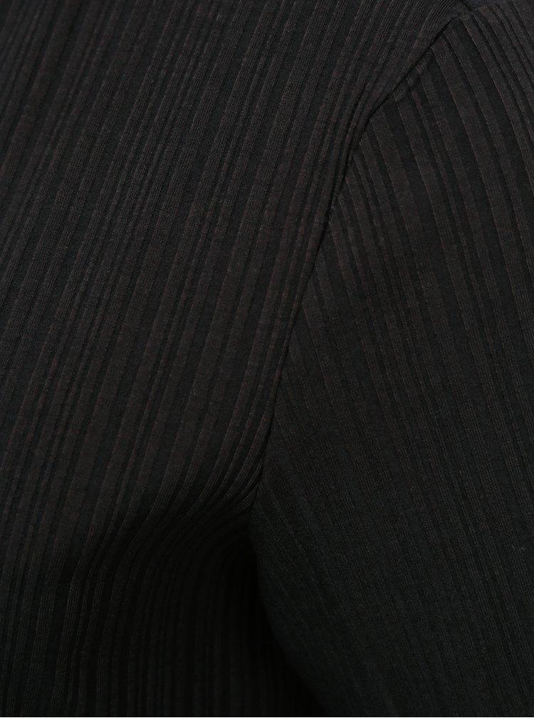 Černé midišaty AWARE by VERO MODA Ketti