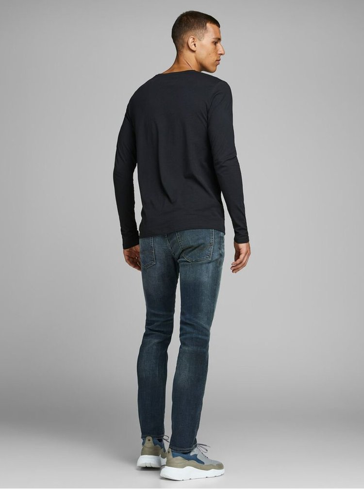 Modré slim fit rifle Jack & Jones Tim