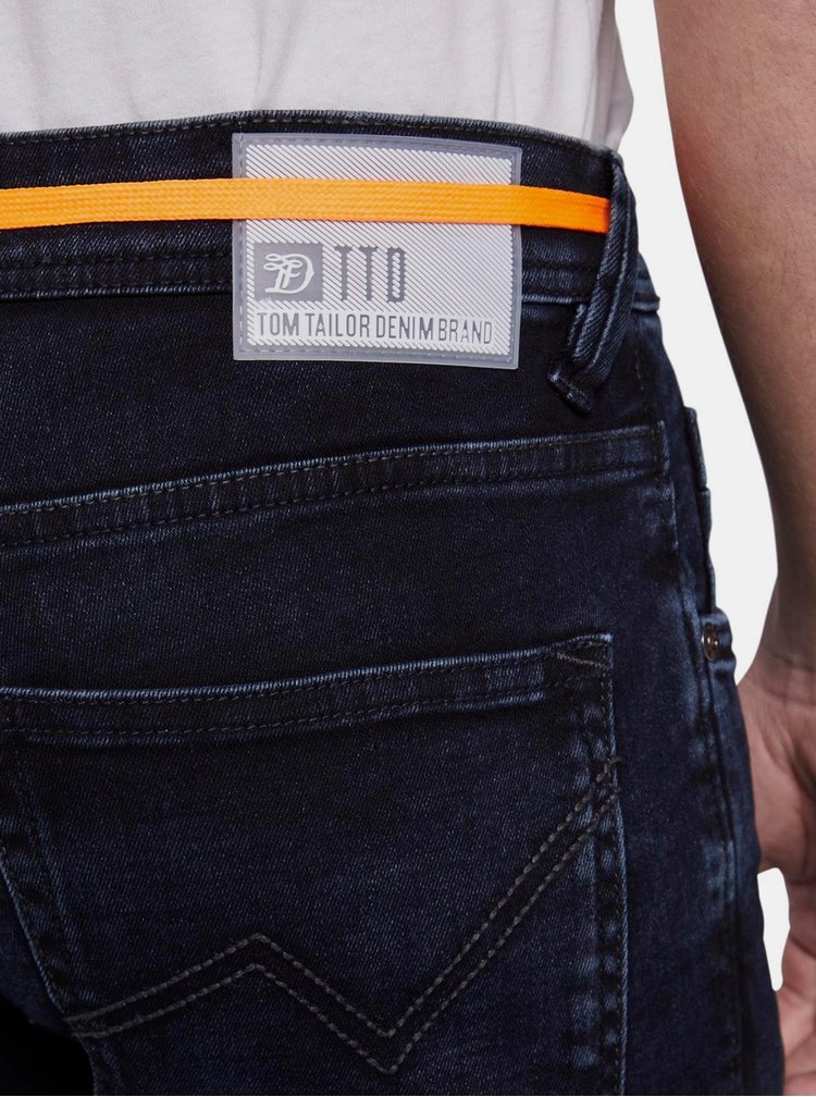 Skinny fit pentru barbati Tom Tailor Denim - albastru inchis