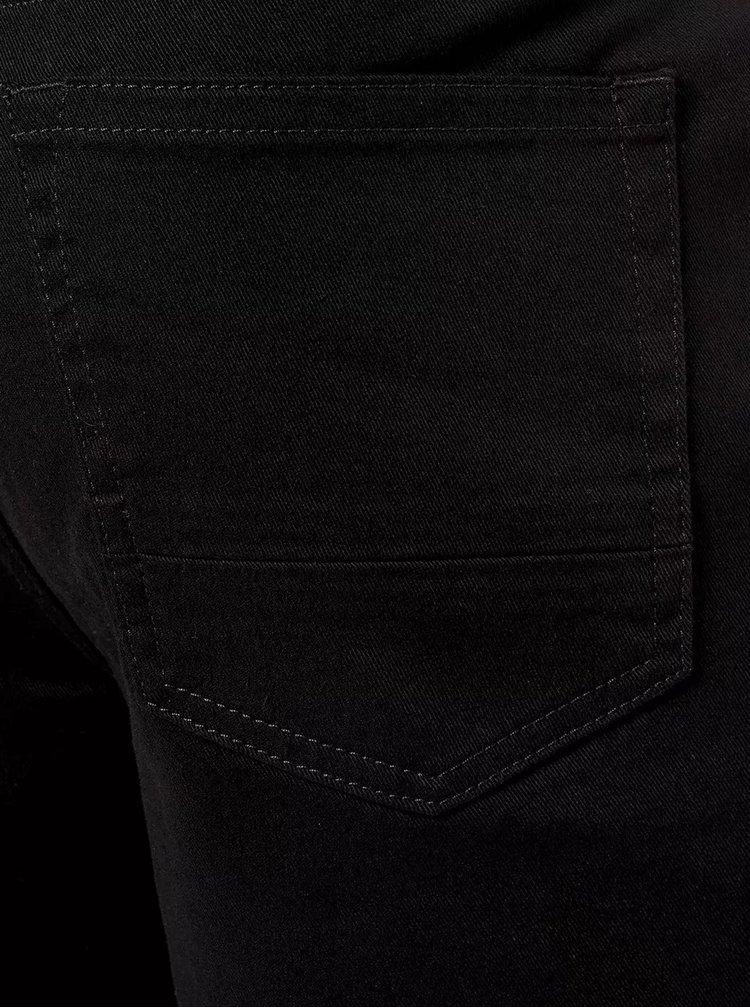 Černé straight džíny Burton Menswear London