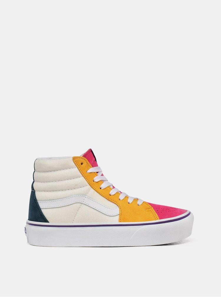 Pantofi sport si tenisi pentru femei VANS - roz, crem