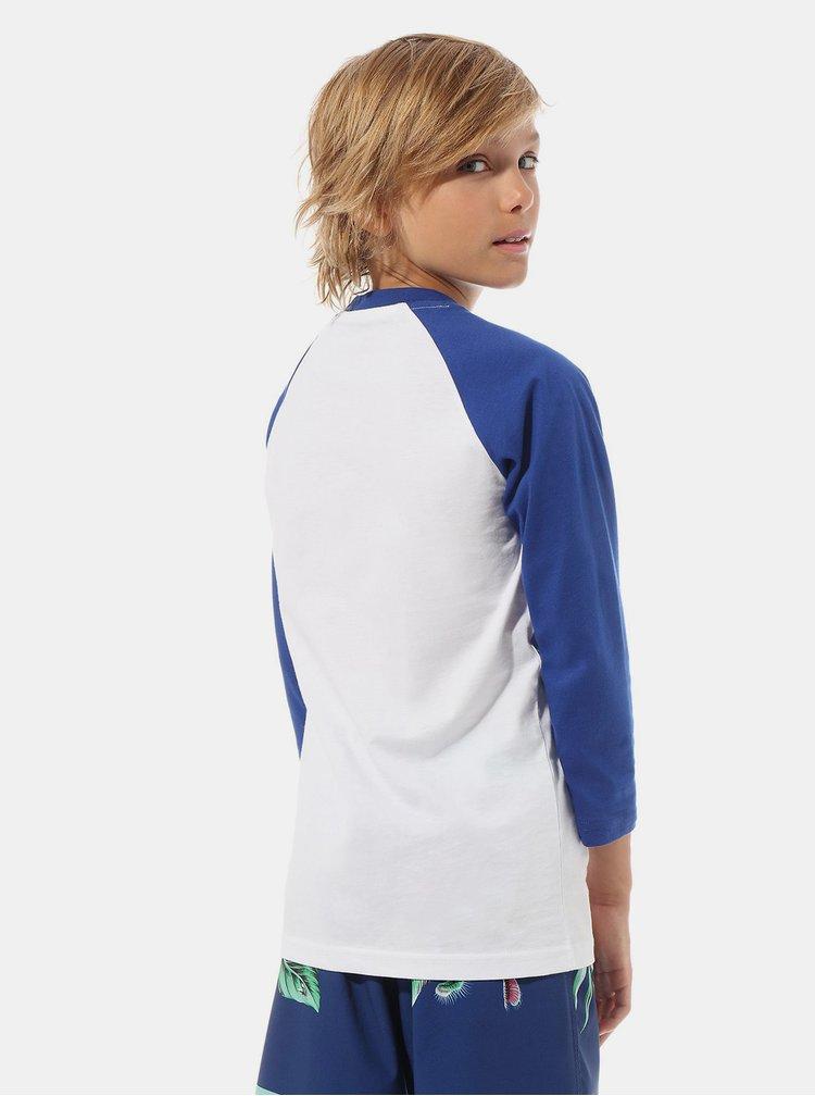 Bílé klučičí tričko s potiskem VANS