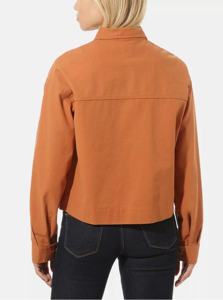 Jachete subtire pentru femei VANS - maro