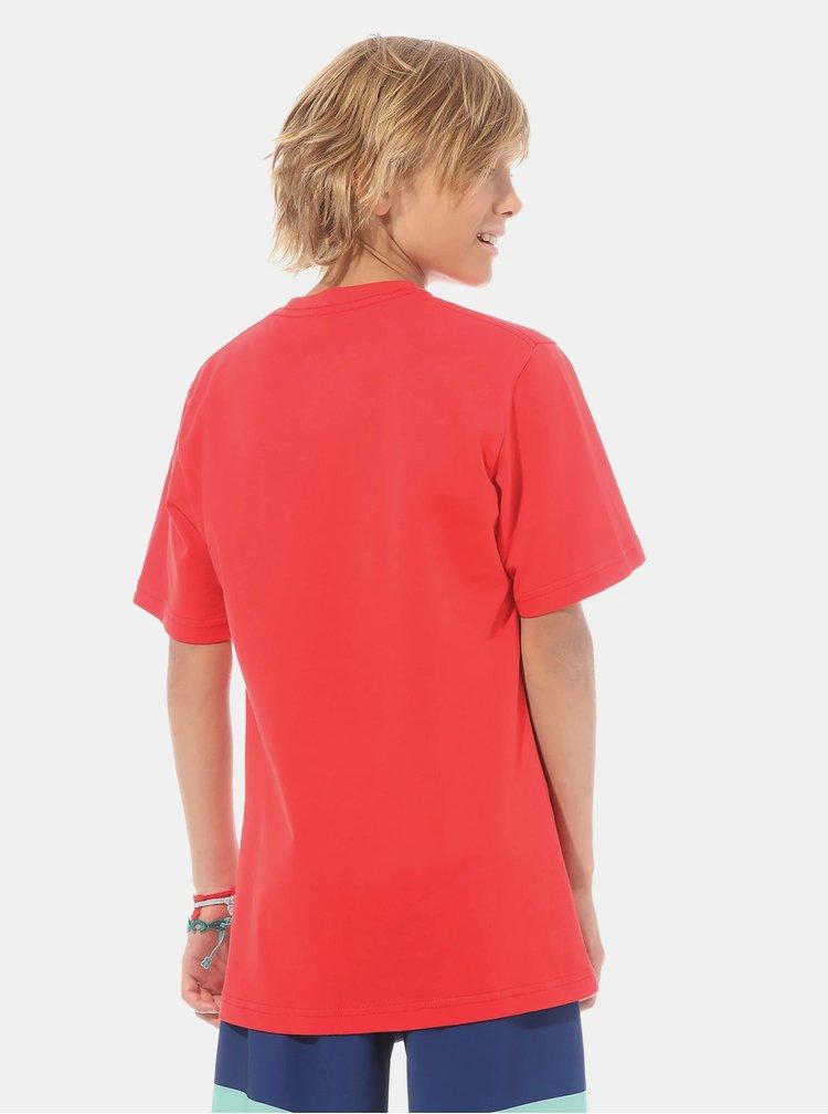 Červené klučičí tričko VANS