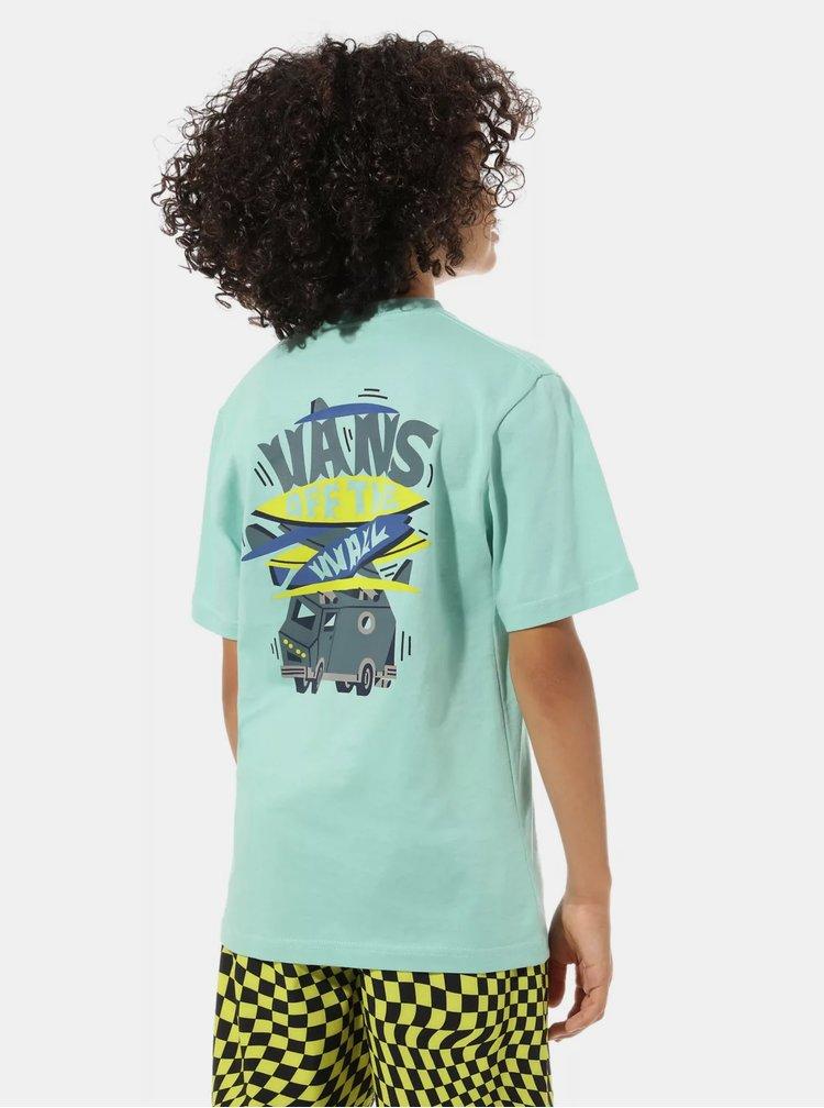 Tyrkysové klučičí tričko VANS