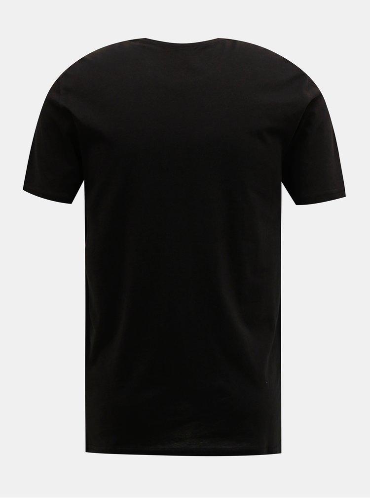 Čierne tričko ONLY & SONS