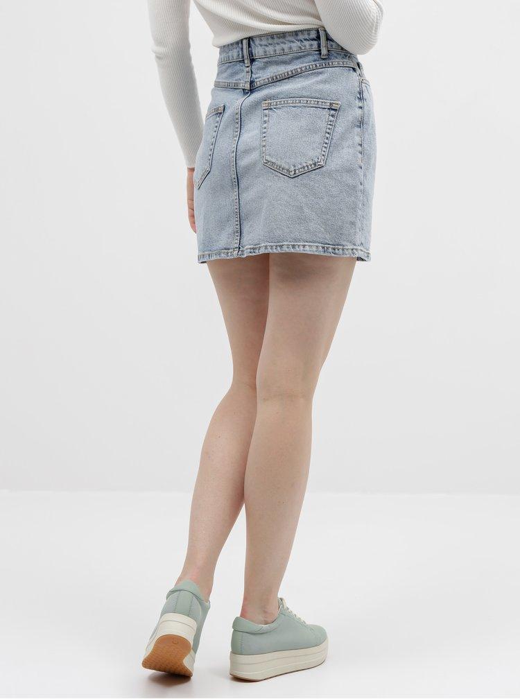 Svetlomodrá rifľová sukňa ONLY Rose