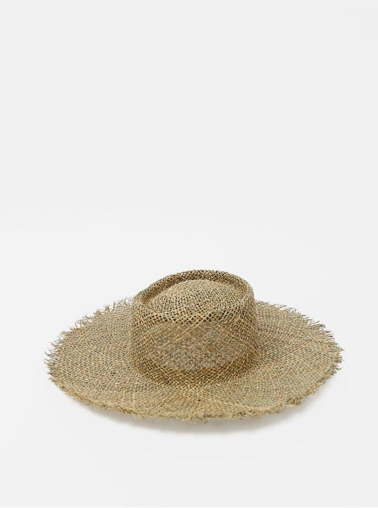 Světle hnědý slaměný klobouk Roxy