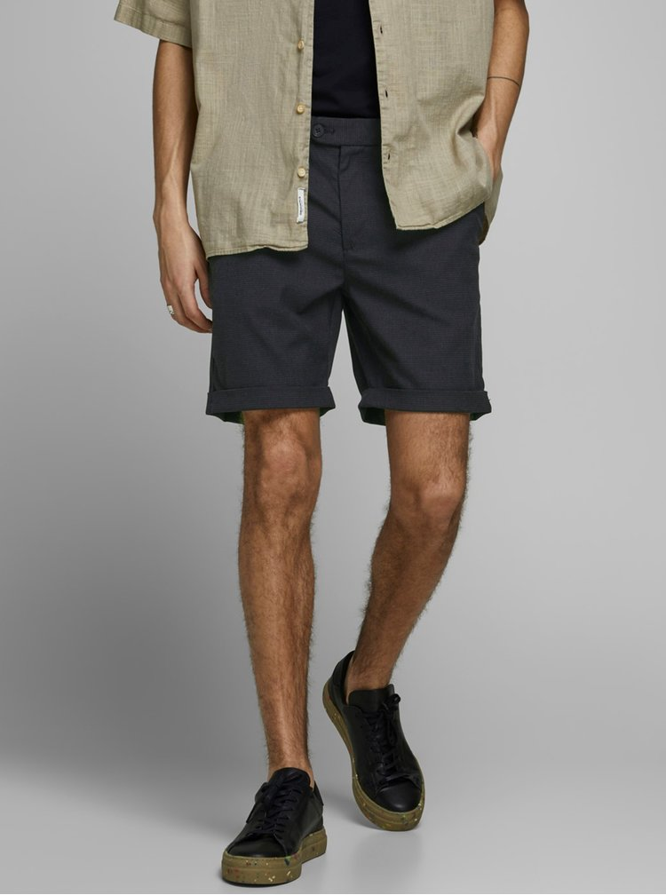 Pantaloni scurti pentru barbati Jack & Jones - gri inchis