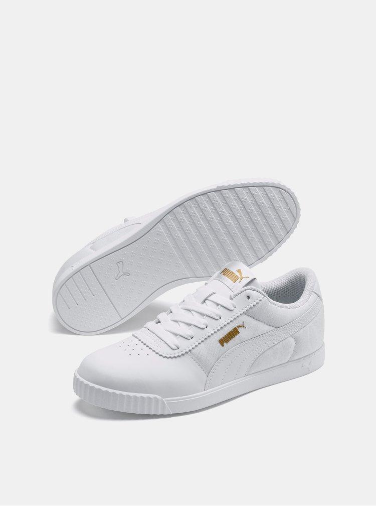 Bílé dámské tenisky Puma