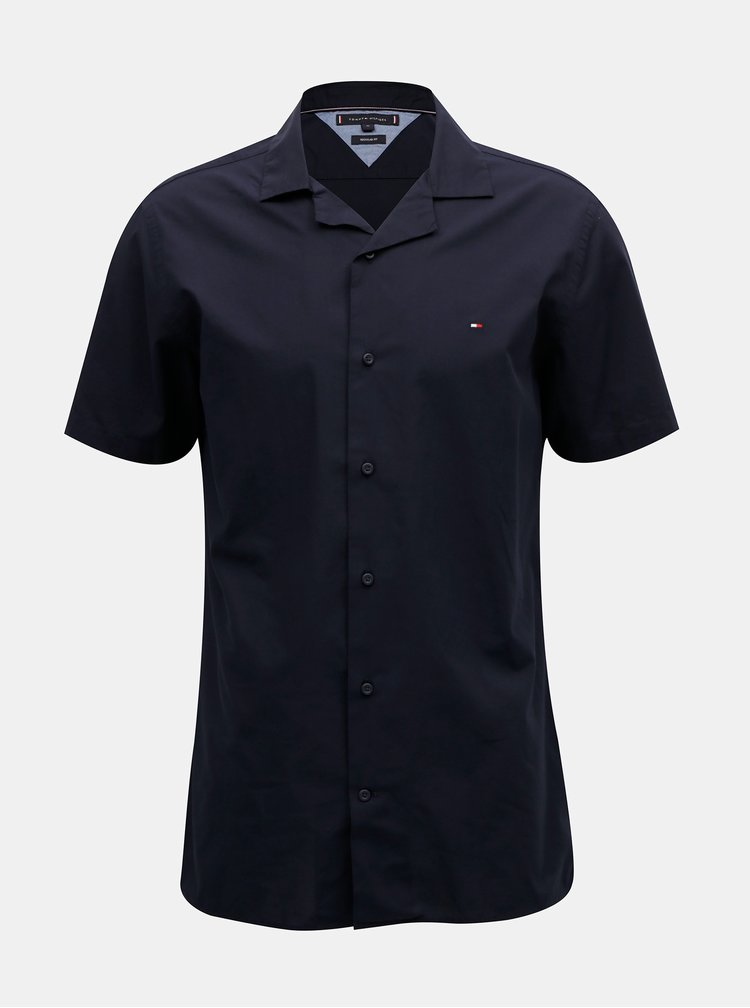 Tmavě modrá košile Tommy Hilfiger