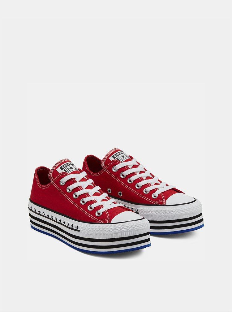 Pantofi sport si tenisi pentru femei Converse - rosu