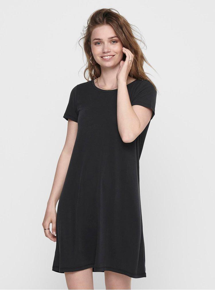 Černé basic šaty ONLY Free