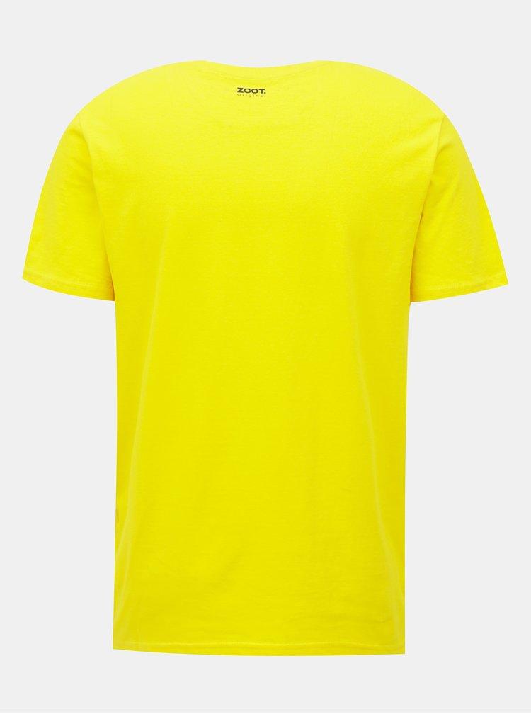 Žluté pánské tričko ZOOT Original Velký pívo