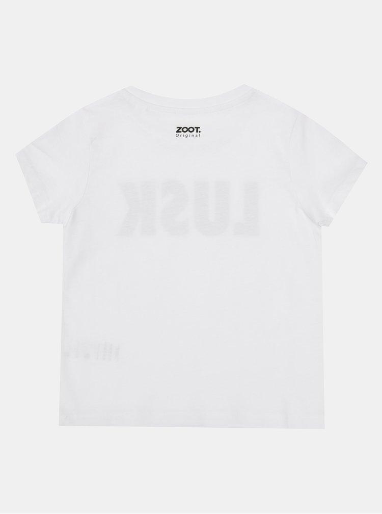 Bílé dětské tričko ZOOT Kids Lusk