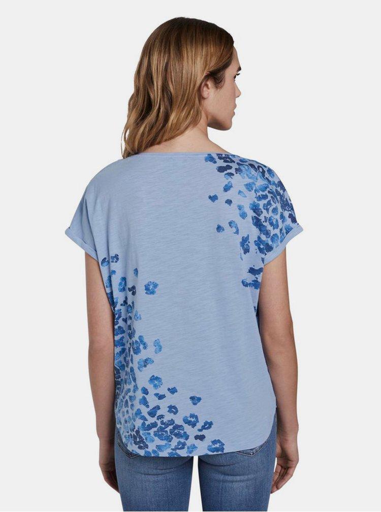 Tricouri pentru femei Tom Tailor - albastru