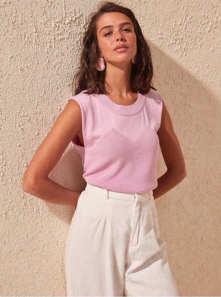 Tricouri pentru femei Trendyol - mov