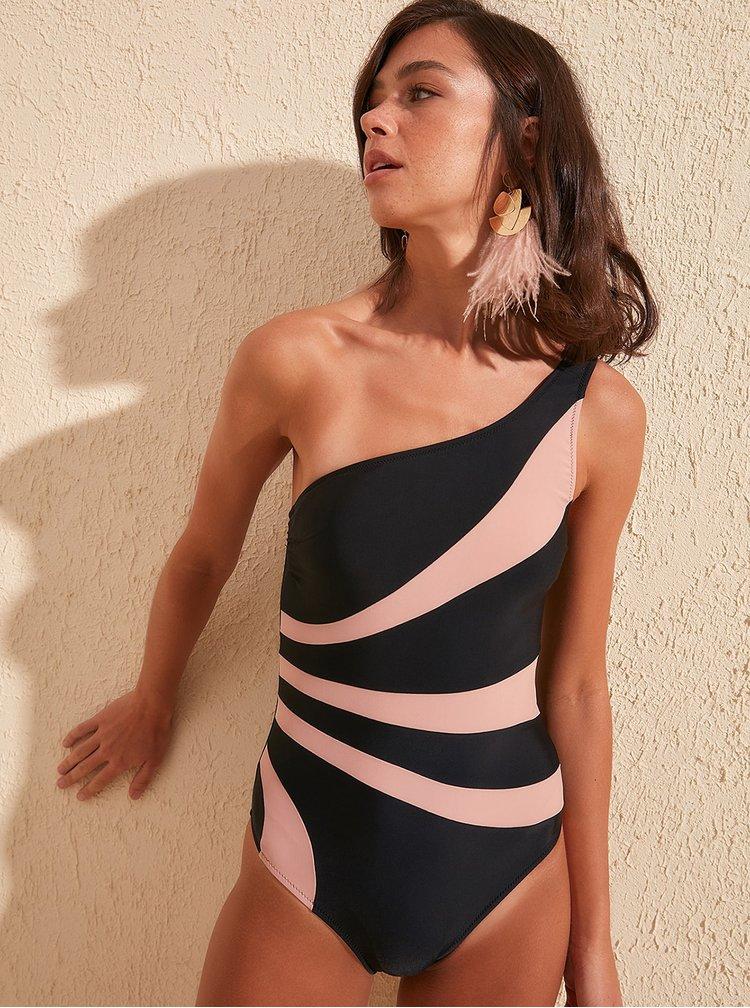 Costume de baie pentru femei Trendyol - negru, roz