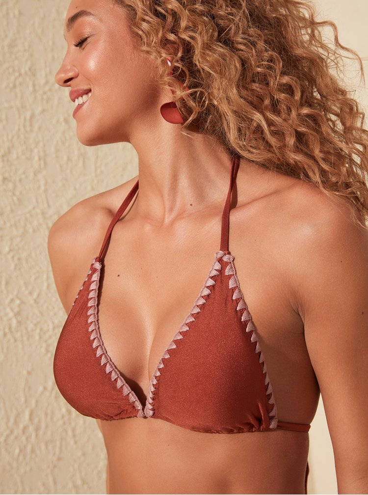 Bikini pentru femei Trendyol - maro