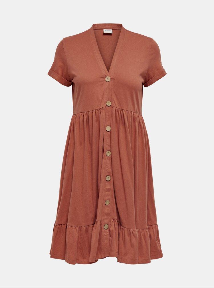 Tehlové šaty Jacqueline de Yong Berry