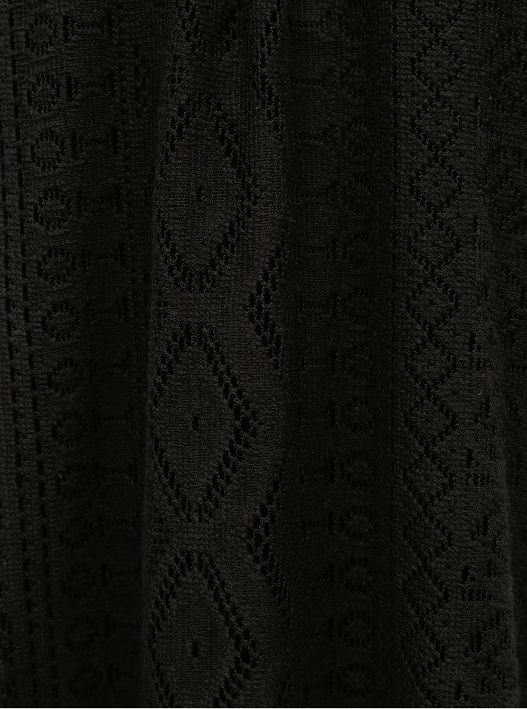 Černé krajkové šaty VERO MODA Lea