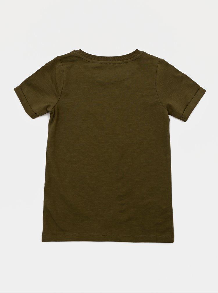 Khaki klučičí tričko name it