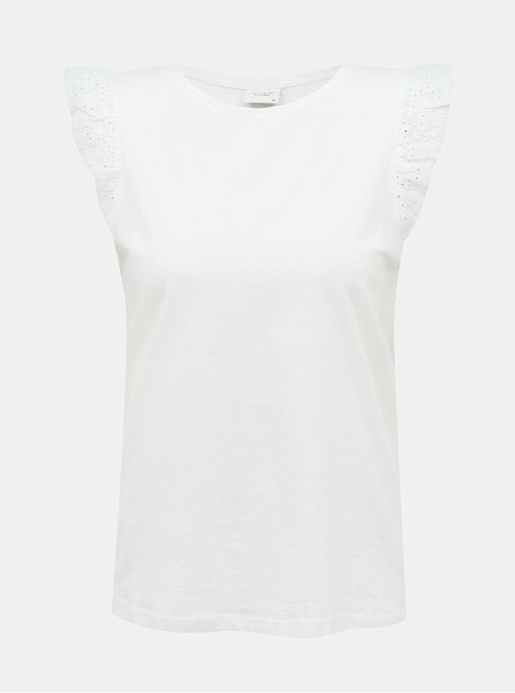 Bílý top Jacqueline de Yong Engel