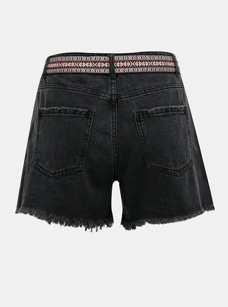 Pantaloni scurti  pentru femei Jacqueline de Yong - gri inchis