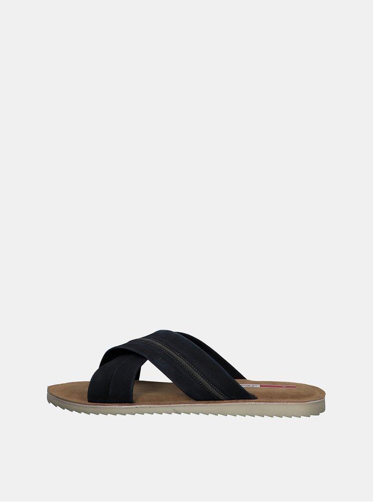 Sandale si slapi pentru barbati s.Oliver - albastru inchis