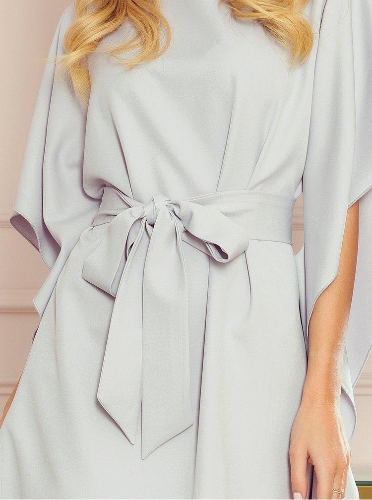 Šedé šaty Numoco