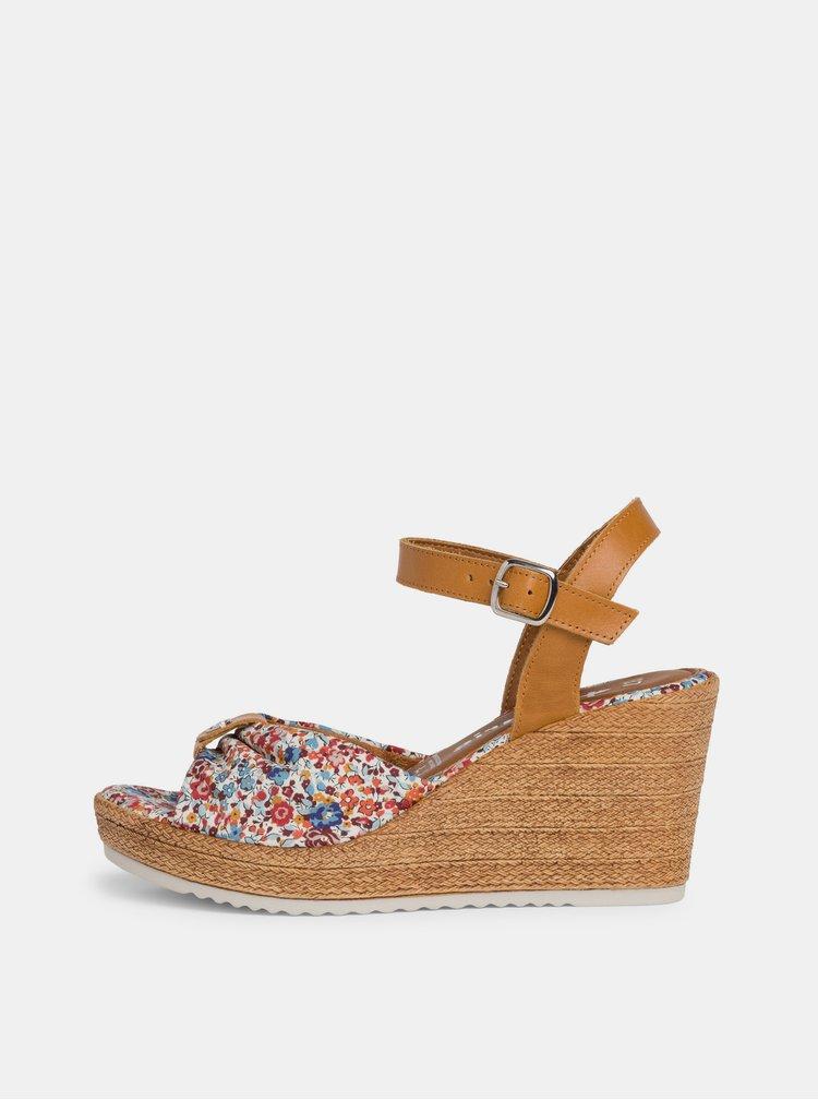 Sandale pentru femei Tamaris - albastru, maro