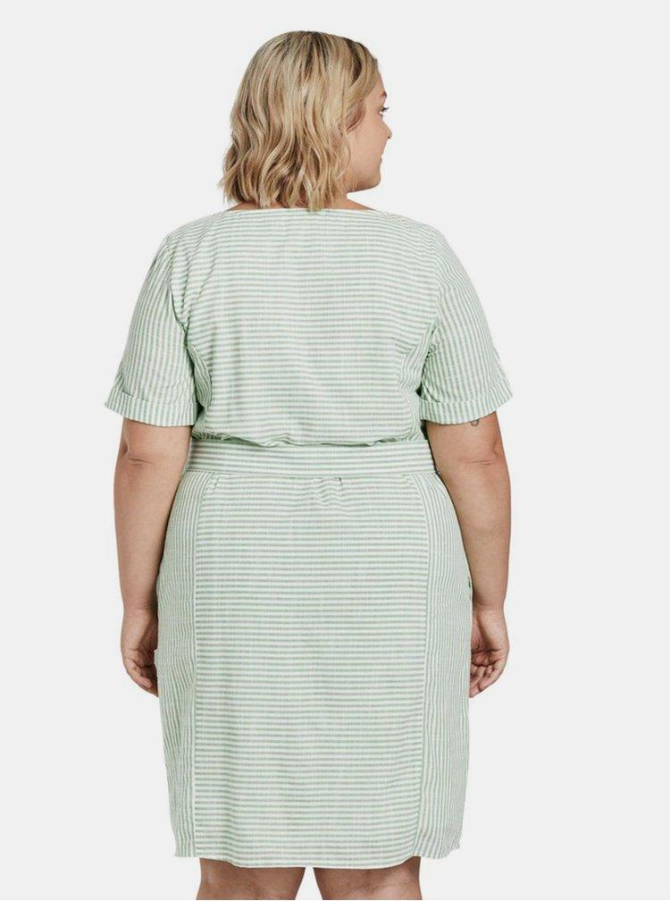 Marimi curvy pentru femei My True Me Tom Tailor - verde deschis