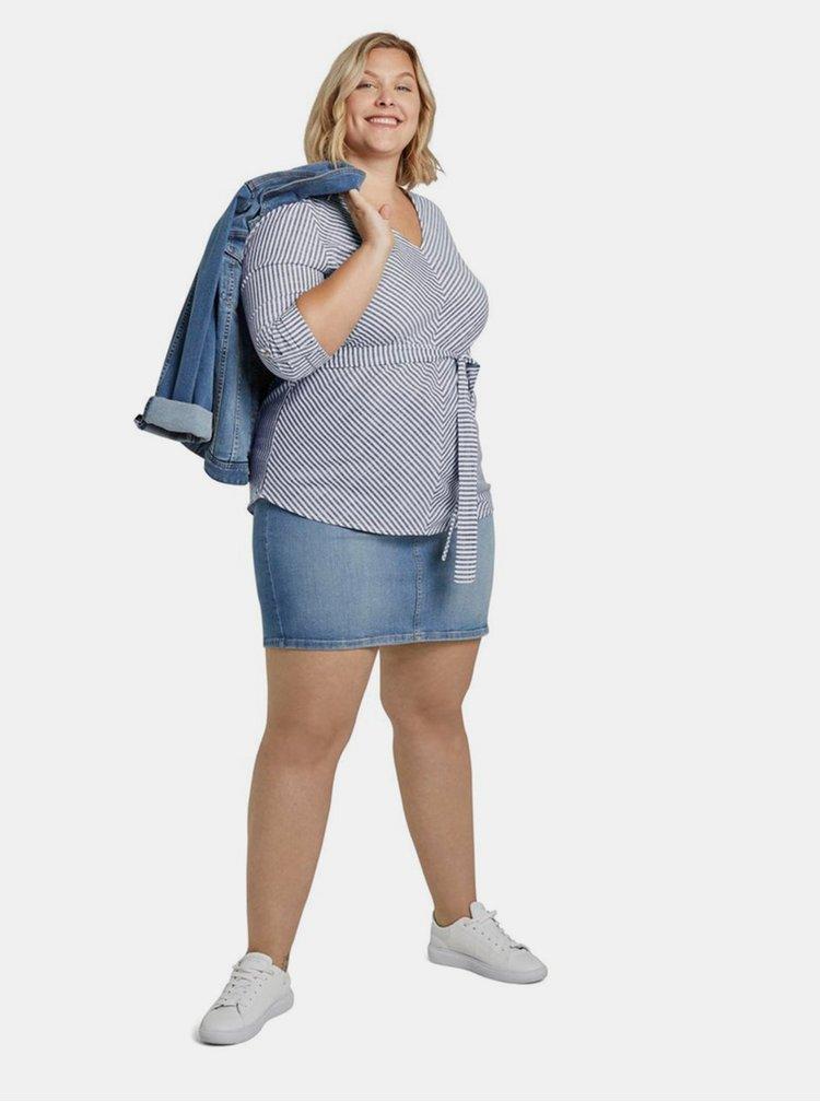 Marimi curvy pentru femei My True Me Tom Tailor - albastru
