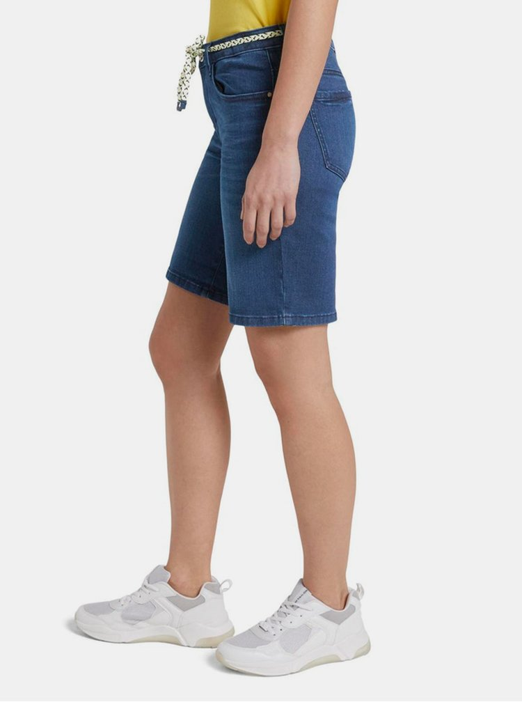 Pantaloni scurti  pentru femei Tom Tailor - albastru