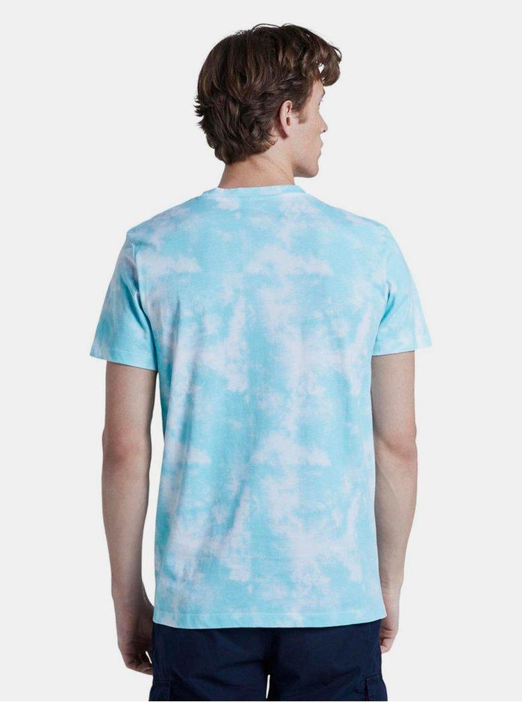 Modré pánske tričko Tom Tailor Denim