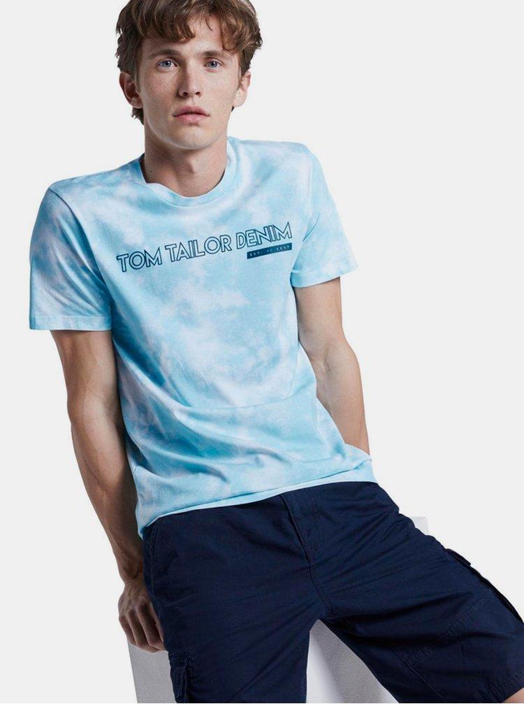 Modré pánské tričko Tom Tailor Denim