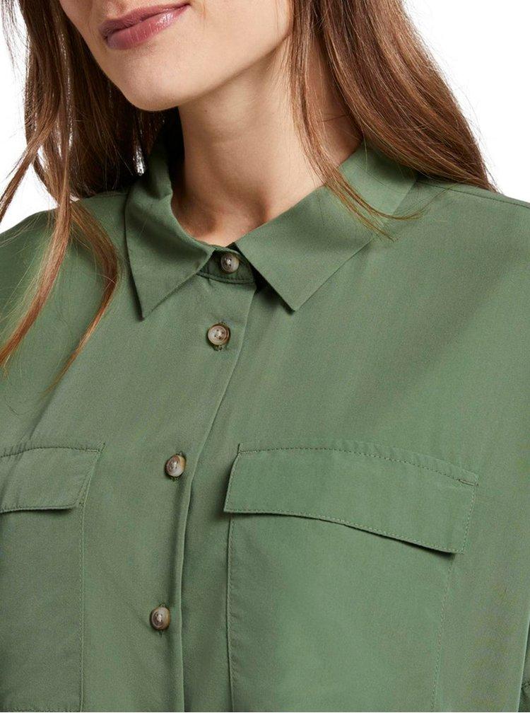 Zelená dámská košile Tom Tailor Denim