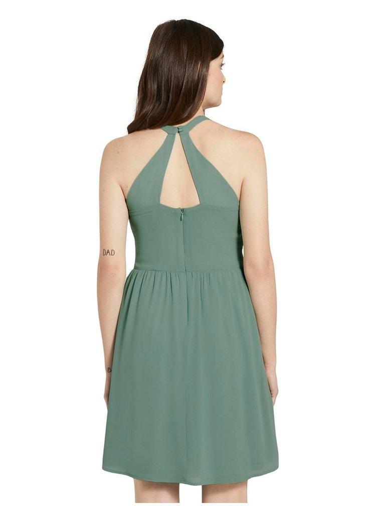 Zelené dámské šaty Tom Tailor Denim