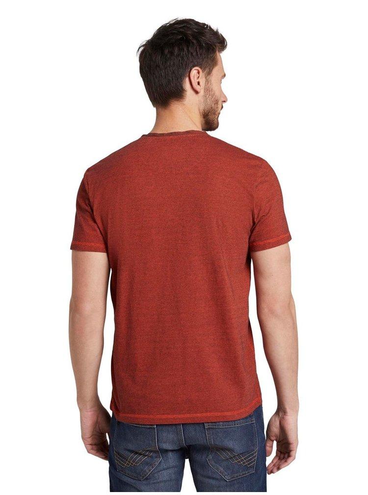 Tricouri pentru barbati Tom Tailor - maro