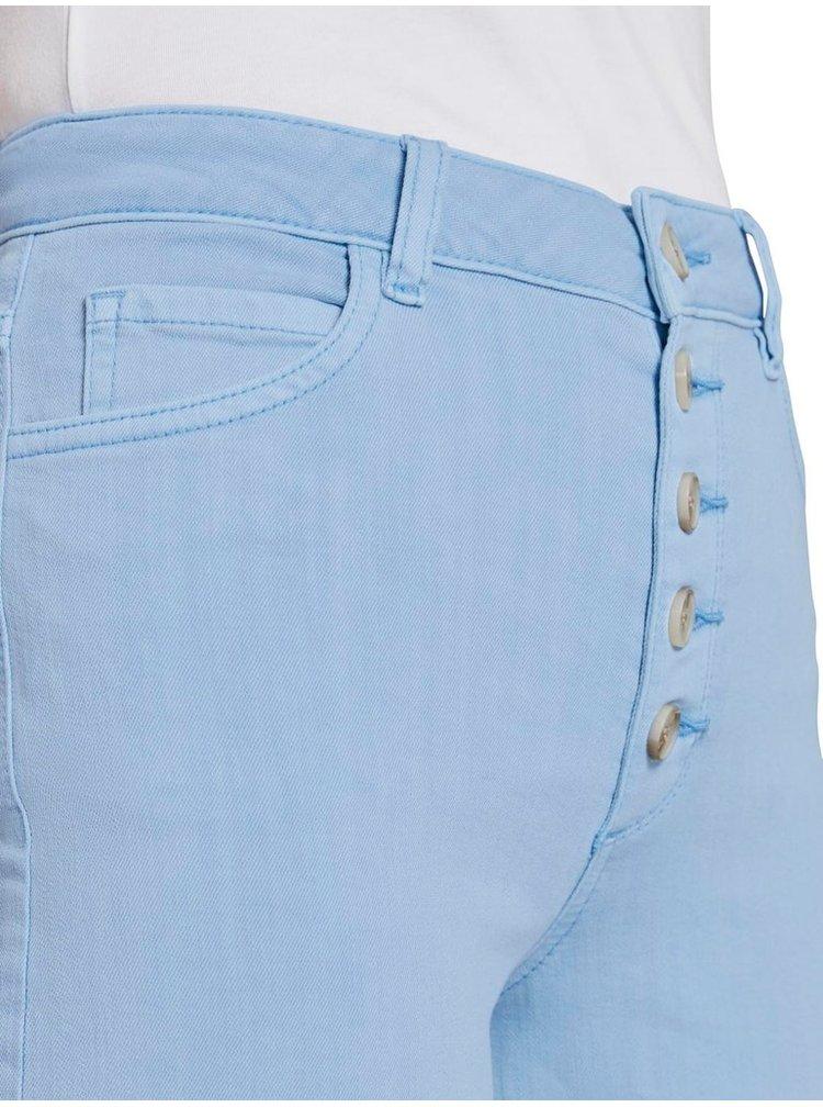Světle modré dámské 3/4 džíny Tom Tailor