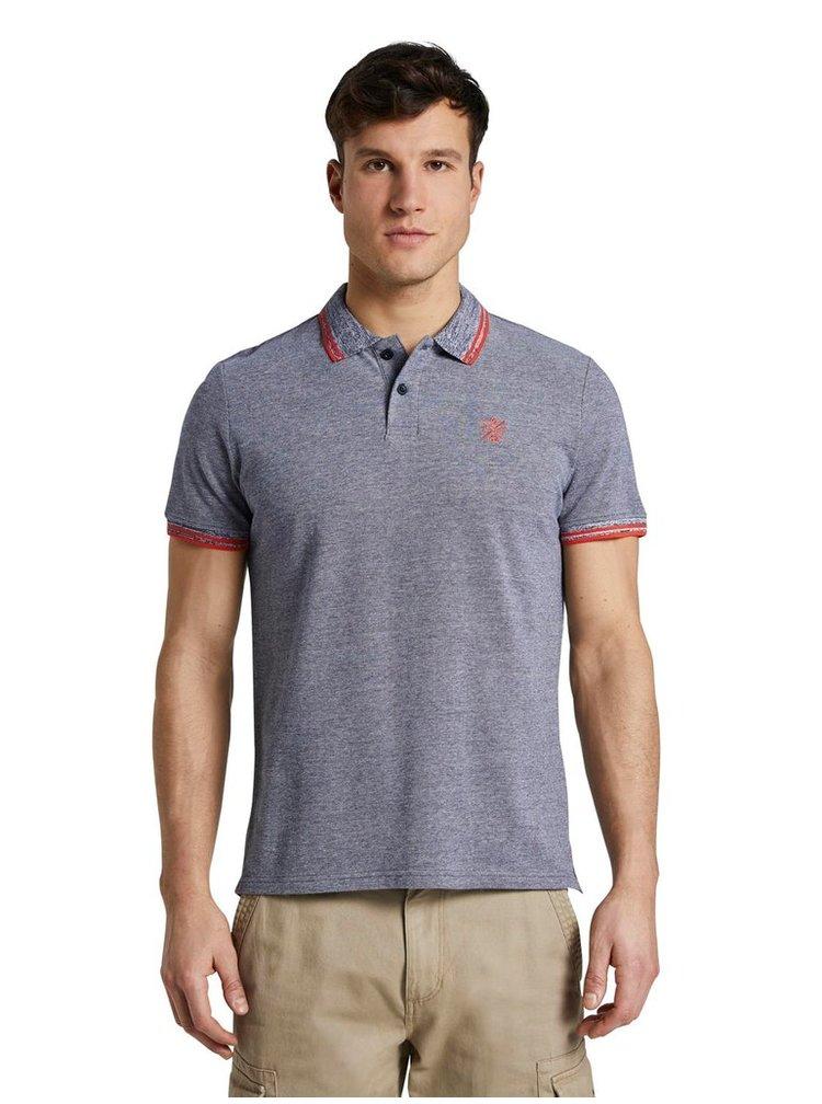 Tricouri polo pentru barbati Tom Tailor - albastru