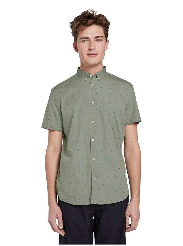 Tricouri cu maneca scurta pentru barbati Tom Tailor Denim - verde