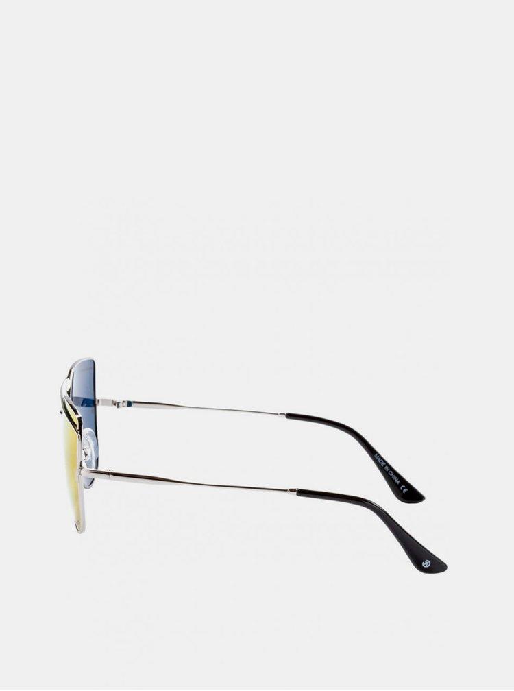 Dámské sluneční brýle ve stříbrné barvě Meatfly Vision